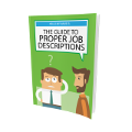 Guide to Proper Job Descriptions book